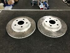 CELICA VVTI 140 DRILLED GROOVED BRAKE DISC ZINC  255MM