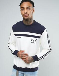 BNWT Adidas Originals 83-C Men's Crew Neck Sweatshirt Top – Size XL – RRP$140