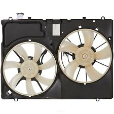 Dual Radiator and Condenser Fan Assembly Spectra CF20073 fits 07-09 Lexus RX350