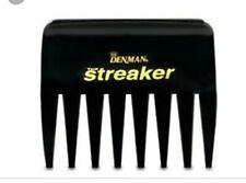 Denman Streaker Wide Tooth Comb Black