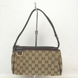 Gucci Accessories Pouch  Light Brown Canvas 1513174