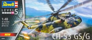 Revell-Germany 1/48 CH53GS/G Military Helicopter  RMG3856-NEW