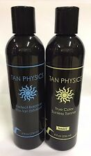 Tan Physics Combo Perfect Balance Pre-Tan Exfoliant + True Color Sunless Tanner