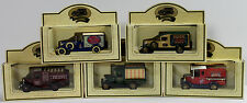 5 Lledo Walkers Crisps die-cast promotional model vans. MINT IN BOX - UNOPENED
