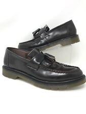 Dr. Martens Men's Adrian Slip-On Loafers Leather Dark Burgundy Tassel Sz Us 13M