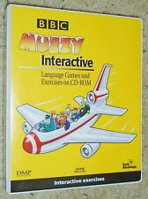 MUZZY BBC INTERACTIVE GAMES in SPANISH FOR CHILDREN ~ NEW COMPLETE & UNUSED