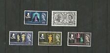 Great Britain 1964 Shaskespeare Ord sg 646 650   MNH