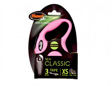 New listing New Flexi Classic Tape Retractable Dog Leash Black Pink Red Small Xs Germany