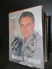 68925 Ralph Daniel TV Musik Fernsehen original signierte Autogrammkarte