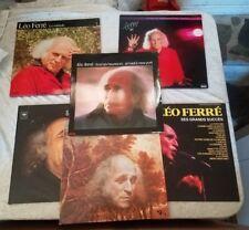 8 LEO FERRE - LP collection of Gore Vidal
