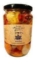 Greek Traditional Mixed Pickled Vegetables Net Weight 680gr