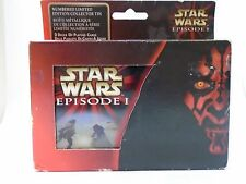 Star Wars Episode 1 Playing Cards; Numbered Limited Edition Collector Tin