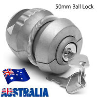 Insertable Hitch Lock Trailer Parts Coupling Tow Ball Caravan Boat Security Lock