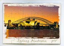 Sydney Australia Jigsaw Magnet, Image, Fridge Magnet, Souvenir.