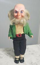 "Vintage Crolly Doll Leprechaun Elf Gnome 11"" Made in Ireland"