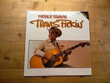 Merle Travis Travis Pickin Very Good Vinyl LP Record Album CMH 6255