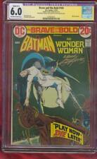 Brave and Bold 105 Batman Wonder Woman CGC SS (R) 6.0 Neal Adams Classic 1973