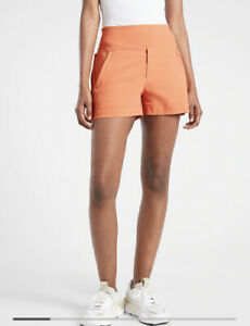 New! Athleta Trekkie North Short Dusty Apricot SIZE 10 #530626