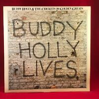 BUDDY HOLLY & THE CRICKETS 20 Golden Greats 1978 UK VINYL LP EXCELLENT Best of D