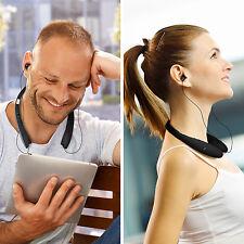 Casque Bluetooth 4.1 Ecouteur Sans fil Pliable Intra-auriculaire Rétractable