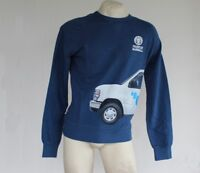 Felpa Uomo FRANKLIN & MARSHALL Sweatshirt Made in Italy Cotone Girocollo Blue