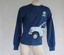 Felpa Uomo FRANKLIN & MARSHALL Sweatshirt Made in Italy Cotone Girocollo Blue