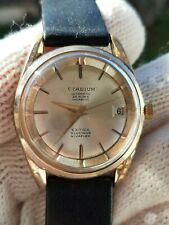 VINTAGE EXTRA GLUCYDUR WATCH AUTOMATIC CAL.ETA 2472 MENS 34.5mm JUST SERVICED