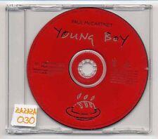 Paul McCartney CD Young Boy - 1-track promo CD - CDRDJ 6462 - beatles solo