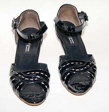 Paul Green München ☺ Schuhe ☺ Pumps  Gr. 5,5  *TOP* Handmade Lack + Leder schwar
