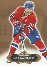 Max Pacioretty #30 - 2016-17 Fleer Showcase - Base