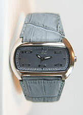 Nice Italy Vem Women's Stainless Steel Leather Strap Watch. New and Unworn.