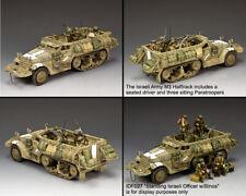 KING & COUNTRY ISRAELI DEFENSE FORCE IDF020 ISRAELI ARMY M3 HALFTRACK SET MIB