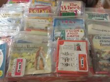 Lot of 22 Easy Phonics Readers/books with audio-cassettes Scholastic and others