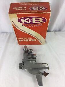 Vintage K&B Marine RC Model Engine 7.5 - Please see all photos