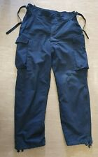 """USED Arktis Ex Police Issue Black MVP Lined Ripstop Trousers Size 38/33"""" UK"""