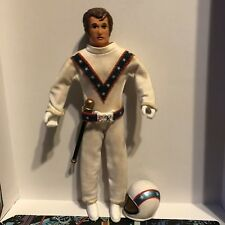 Vintage 1972 Ideal Evel Knievel action figure COMPLETE w. swagger stick ! Look