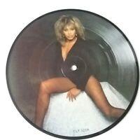 "Tina Turner - Help - 7"" Vinyl Picture Disc UK 1984 Press NM Beatles Cover"