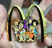 WOW, Big Size Mcdonalds Golden arch Flintstones pin