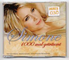 Simone Maxi-CD 1000 mal geträumt - 2-track CD