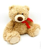 """AURORA 12"""" Tan Teddy Bear Plush Stuffed Animal Toy"""