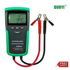 DOUYI 12V/24V Car Battery Tester Heavy Duty Truck Automotive Battery Analyzer 🔥