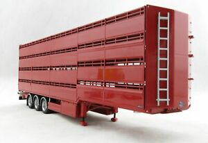 Tekno 70608 Houghton Parkhouse Cattle SemiTrailer Twin Tyres 1:50