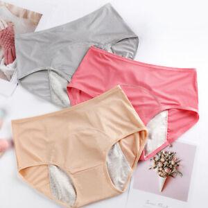 Women Ladies Waterproof Menstrual Panties Physiological Pants Underwear Briefs
