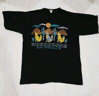 VTG San Antonio Texas T Shirt 50/50 Soft Single Stitch Vintage TX Retro USA Sz L
