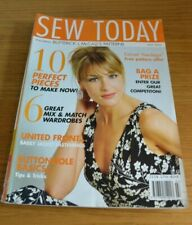 SEW TODAY * SEWING MAGAZINE * JULY 2006 *