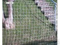 "STRONG NET SOFT 3m X 2m  4"" 100mm mesh garden,plant support shrub PEAS BEANS NEW"