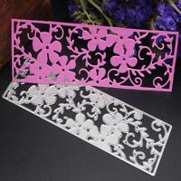 Flowers Metal Cut Dies Stencils for DIY Scrapbooking/photo album Card Decor E&!