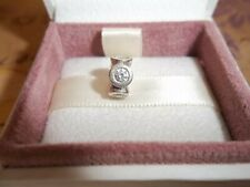 Genuine Authentic Pandora Silver & Clear Circle Lights Spacer Charm 790226CZ