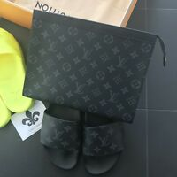 Louis Vuitton Pochette Voyage Monogram Eclipse MM 100% Authentic