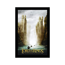 Lord Of The Rings Fellowship Of The Ring- 11x17 Framed Movie Poster by Wallspace